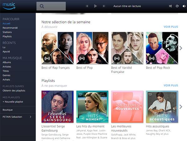 Bon Plan : Essayez gratuitement Amazon Music Unlimited pendant un mois