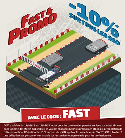 Bon Plan : 10% de remise sur tous les SSD vendus chez LDLC