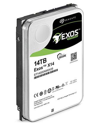 Seagate EXOS X14 : un disque dur de 14 To pour les entreprises