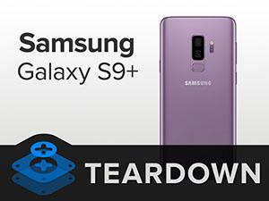 iFixit démonte les Galaxy S9 et S9 Plus et leur attribue un score de 4 sur 10