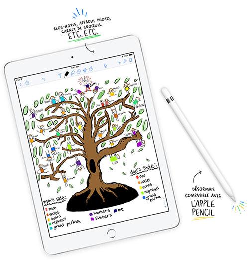 Apple vise l'entrée de gamme avec sa nouvelle tablette de 9,7 pouces