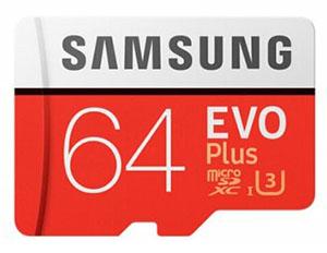 Bon Plan : la micro SDXC Samsung EVO Plus de 64 Go est à 18,23€ seulement