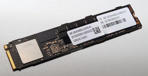 Le Z-SSD de Samsung existe aussi au format M.2.