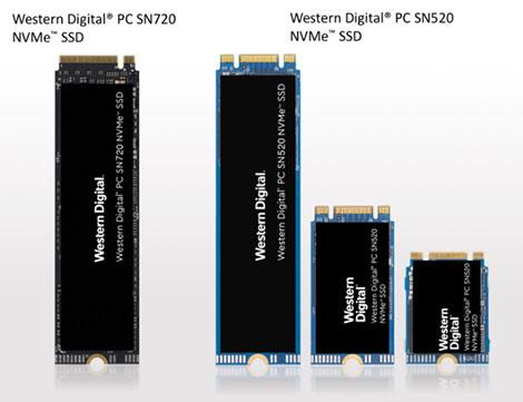 Deux nouveaux SSD NVMe signés Western Digital