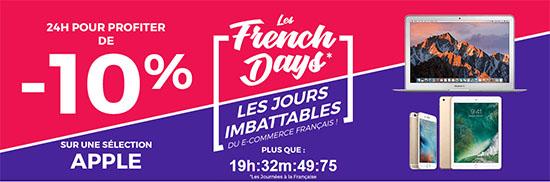 French Days : 10% sur les produits Apple chez CDiscount