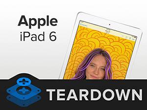 iFixit démonte l'iPad 6 et lui donne une note de 2 sur 10