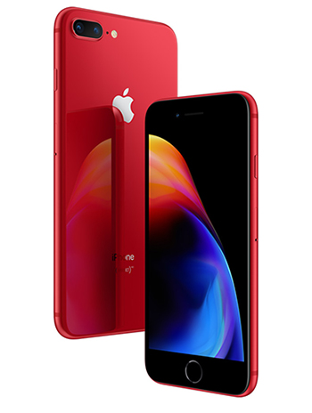Apple propose une édition rouge (RED) de l'iPhone 8 (maj : prix)