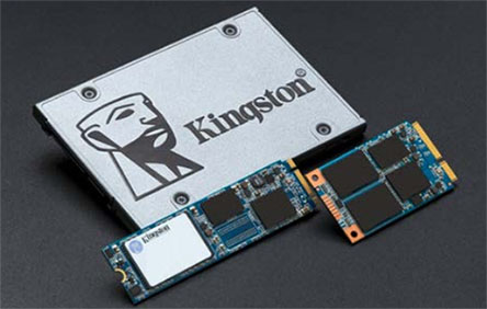 Kingston présente le SSD UV500 décliné en plusieurs formats et en différentes capacités