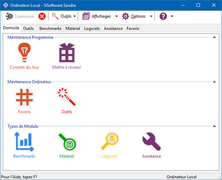 SiSoftware publie la version 30.77 de Sandra 2020