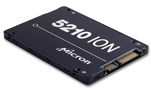 Un premier SSD en mémoire QLC chez Micron : le 5210 ION