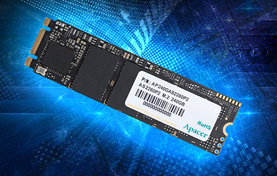 Apacer AS2280p2 : enfin des SSD M.2. NVMe abordables ?