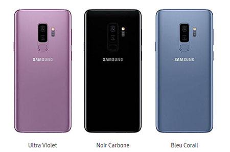 Samsung annonce des Galaxy S9 et S9+ de 128 Go et 256 Go