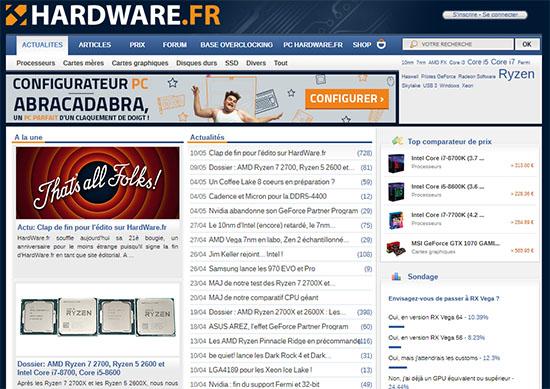HardWare.fr s'arrête après 21 ans de bons et loyaux services