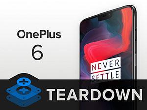 iFixit démonte le OnePlus 6 et lui donne une note de 5 sur 10