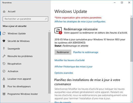 Microsoft publie le patch KB4100403 pour corriger les bugs de SSD avec l'April Update (et d'autres soucis)
