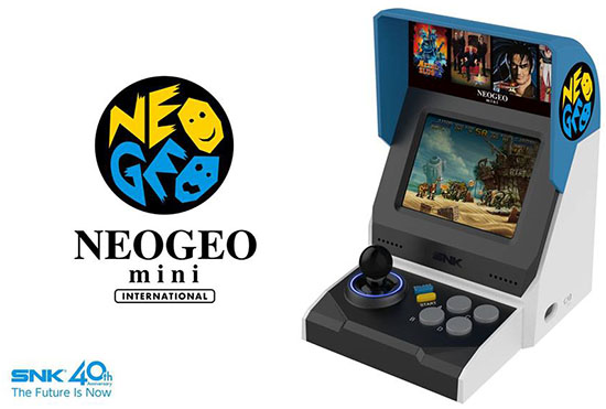 La NeoGeo Mini est maintenant disponible en boutique (maj)