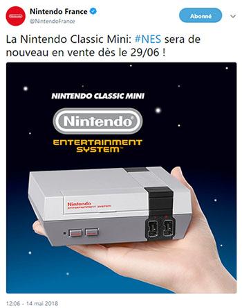 La NES Classic Mini fera son retour le 29 juin prochain, les précommandes sont déjà ouvertes !