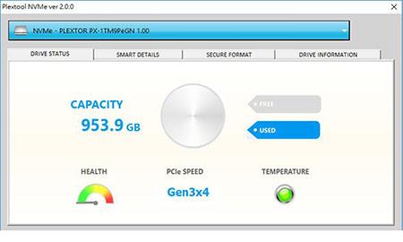 Plextor dévoile le programme Plextool NVMe 2.0 pour ses SSD NVMe