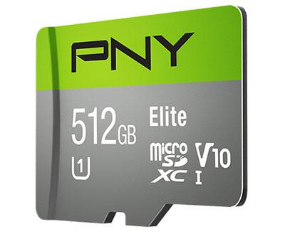 PNY dégaine une micro SDXC de 512 Go