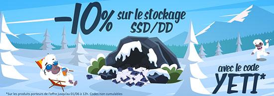 Bon Plan : 10% de réduction sur les SSD et les disques durs, ça vous dit ?