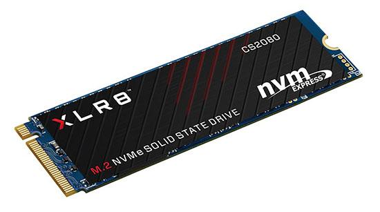 CS2080 : des SSD au format M.2. NVMe aussi chez PNY !