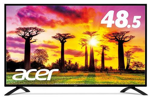 ACER dégaine des moniteurs 48,5 et 54,6 pouces Ultra HD compatibles HDR10
