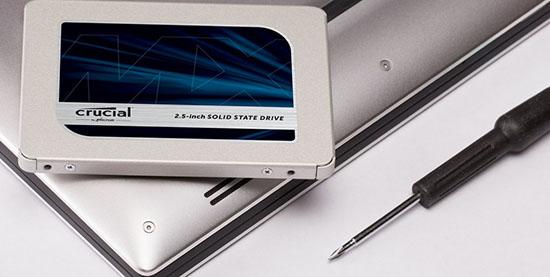 Une première mise à jour de firmware (M3CR022) est disponible pour les SSD Crucial MX500