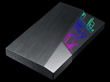 ASUS lance le FX : un disque dur USB 3.1 décliné en 1 et 2 To