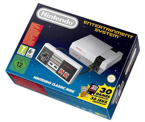 Bon Plan : la Nintendo NES Mini Classic à 43€ sur Amazon.fr