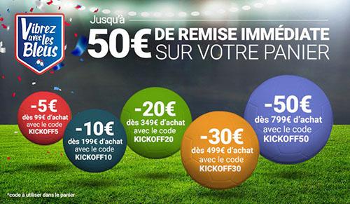 Bon Plan : RueDuCommerce offre de 5 à 50 euros de remise
