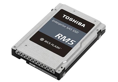 Toshiba RM5 : un SSD de 7,6 To pour les serveurs d'entreprise