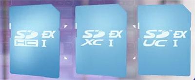 Dans le futur les cartes SD (Express) offriront 128 To de stockage et des débits de 985 Mo/s…