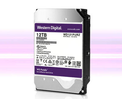 Le disque dur WD Purple est maintenant décliné en version 12 To
