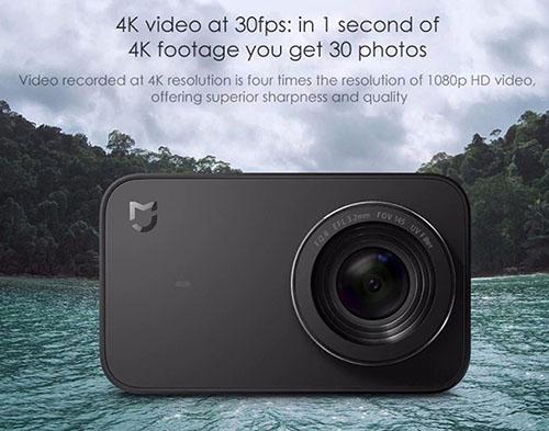 Bon Plan : la caméra sportive 4K de Xiaomi voit son prix tomber à 87 euros