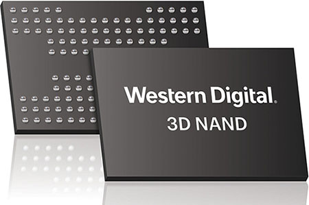 De la NAND Flash QLC 96 couches chez Western Digital…