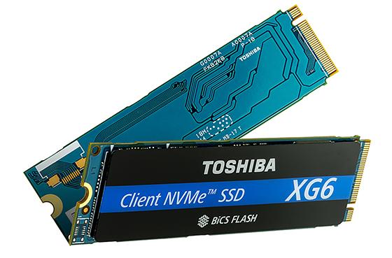 Toshiba XG6 : un SSD M.2. NVMe en NAND BiCS 96 couches