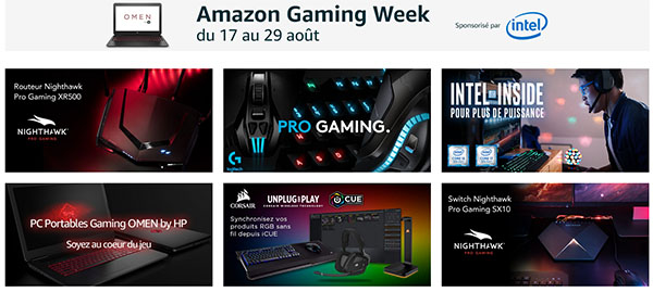 Bon Plan : les gamers sont à l'honneur sur Amazon à l'occasion de la Gaming Week