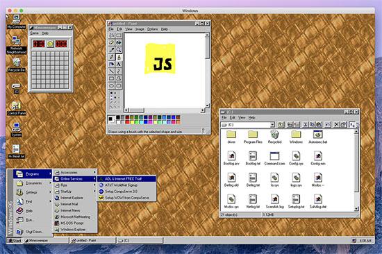Nostalgie : découvrez ou redécouvrez Windows 95 …