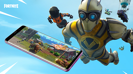 Fortnite Battle Royale débarque sur Android…