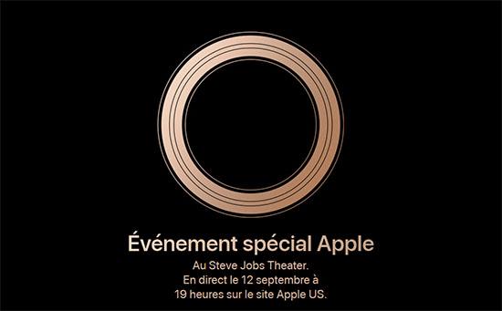 Jour J pour la conférence d'Apple et les nouveaux iPhone