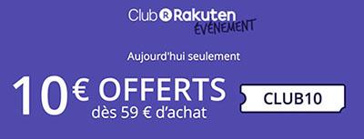 Bon Plan : obtenez 10€ de réduction sur le site Rakuten / Priceminister