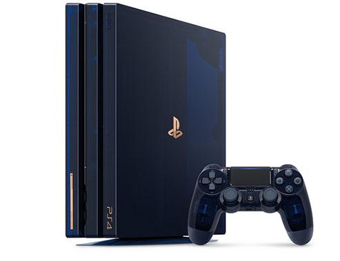 Une édition limitée de la PS4 Pro pour fêter les 500 millions de consoles vendues