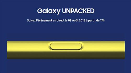 La conférence Samsung Unpacked va démarrer dans quelques minutes…