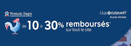 Bon Plan : Rakuten rembourse de 10 à 30% des achats en SuperPoints pour les French Days