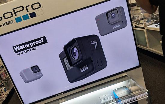 La GoPro Hero 7 se montre avant l'heure…