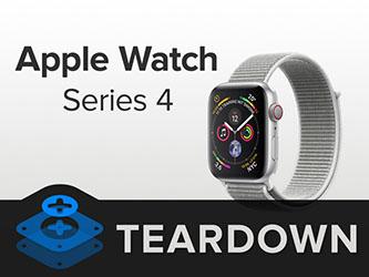 iFixit désosse l'Apple Watch et lui décerne un 6 sur 10