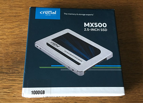 Nouvel article sur Bhmag : test du SSD Crucial MX500 en version 1 To !