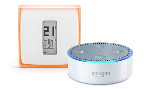 Bon Plan : thermostat Netatmo + enceinte Echo Dot à 120€ (via ODR) durant les French Days