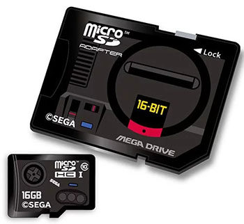 Insolite : des cartes SD rétro pour les fans de Sega Megadrive, Saturn ou Dreamcast
