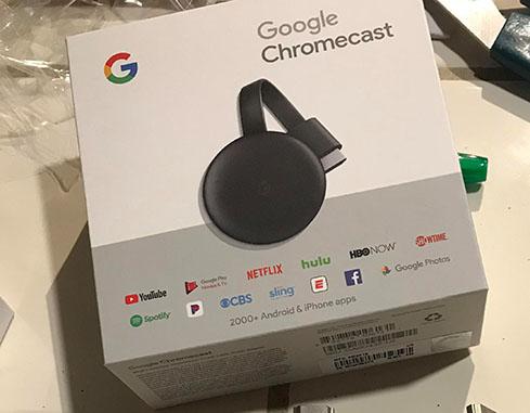 Des photos du Chromecast 3 apparaissent sur le net…